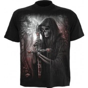 Spiral Soul Searcher T-Shirt Medium Black