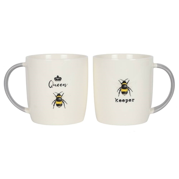 Queen and Keeper Mugs Set