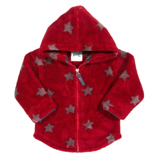 ba5fe4af4de4 Kite Kids Baby-Boys 12-18 Months Lilliput Fleece Starred Hoodie ...