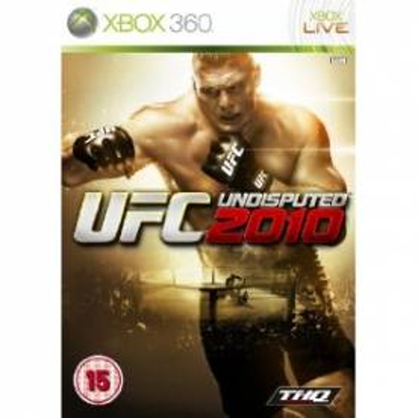 UFC Undisputed 2010 Game Xbox 360