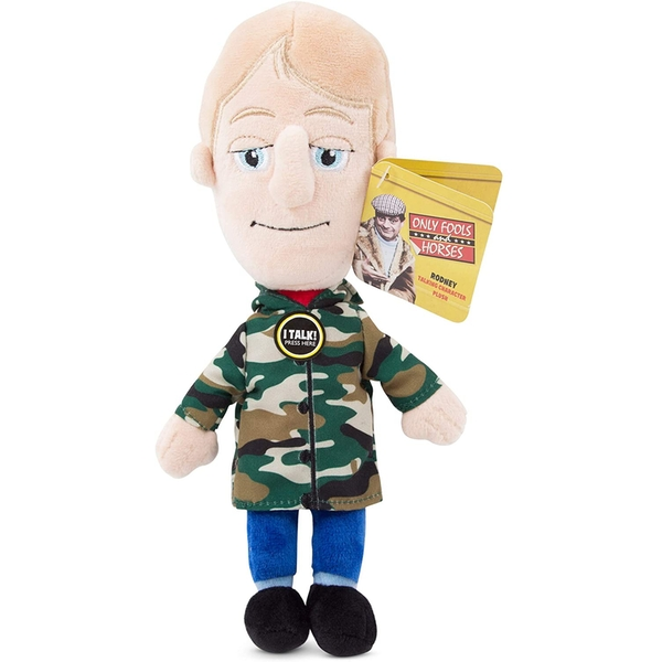 Rodney (Only Fools and Horses) 20cm Talking Plush