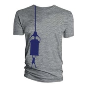 Doctor Who - Tardis Hang Men's XXX-Large T-Shirt - Grey