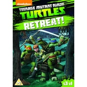 Teenage Mutant Ninja Turtles: Season 3, Vol. 1 - Retreat! DVD