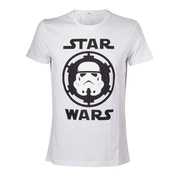 Star Wars Stormtrooper Helmet Emblem X-Large T-Shirt