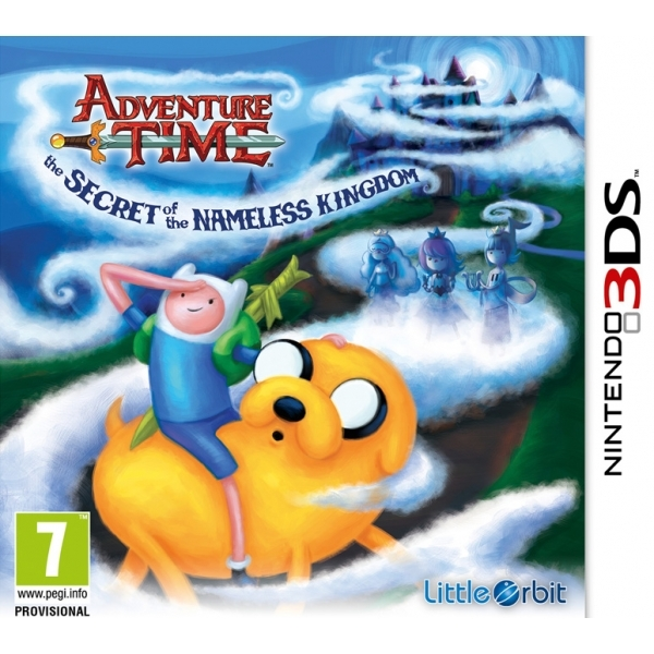 Adventure Time The Secret of the Nameless Kingdom 3DS Game