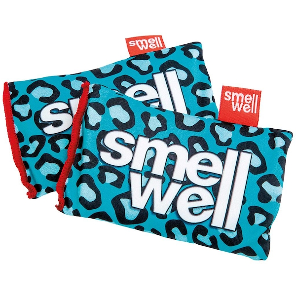 Smell Well Pouches (Pack of 2) Blue Leopard Damaged