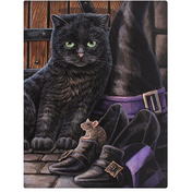 Small Trouble & Squeak Canvas Picture by Lisa Parker