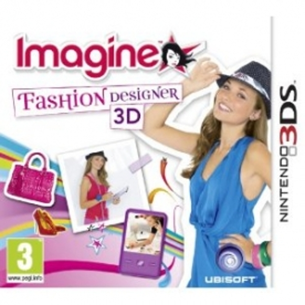 Imagine Fashion Designer Game 3DS