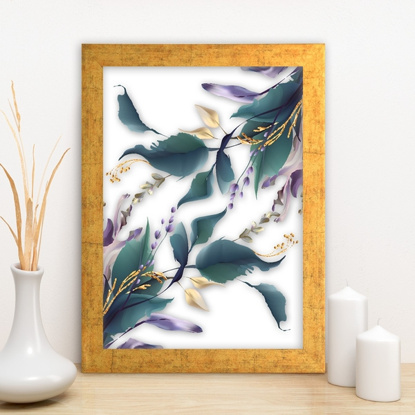 AC14815624824 Multicolor Decorative Framed MDF Painting