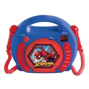 Lexibook RCDK100SP Spider-Man CD Player with Microphones UK Plug