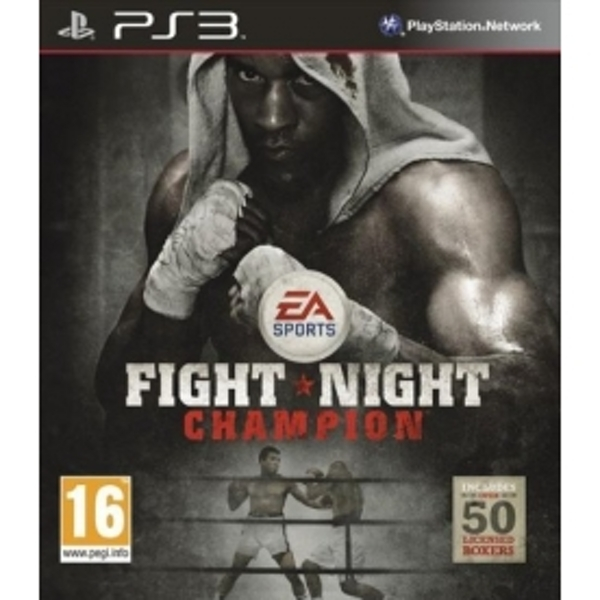 Fight Night Champion Game PS3