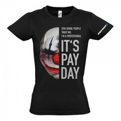 PAYDAY 2 Women's Chains Mask Large T-Shirt, Black