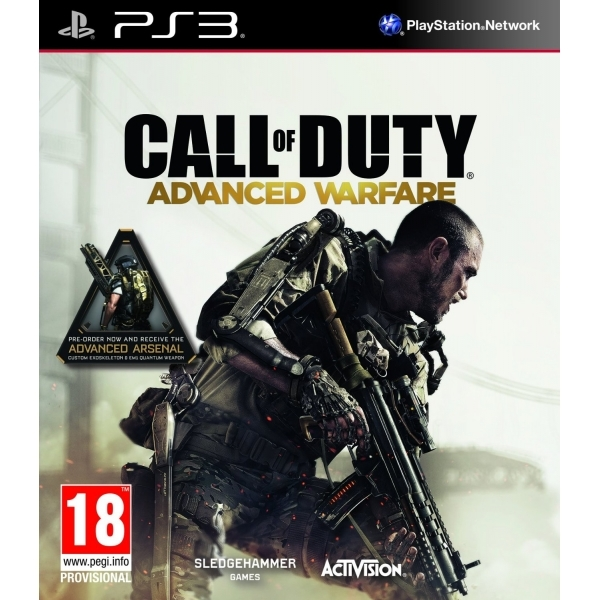 Call Of Duty Advanced Warfare PS3 Game (with Advanced Arsenal DLC)