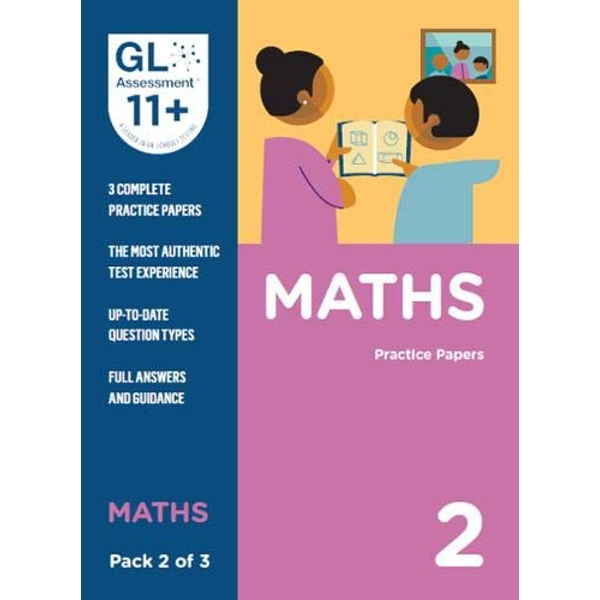 11+ Practice Papers Maths Pack 2 (Multiple Choice)  Paperback / softback 2019