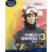 BTEC Level 3 National Public Services Student Book 1 by Elizabeth Toms, Tracey Lilley, Debra Gray (Paperback, 2010)