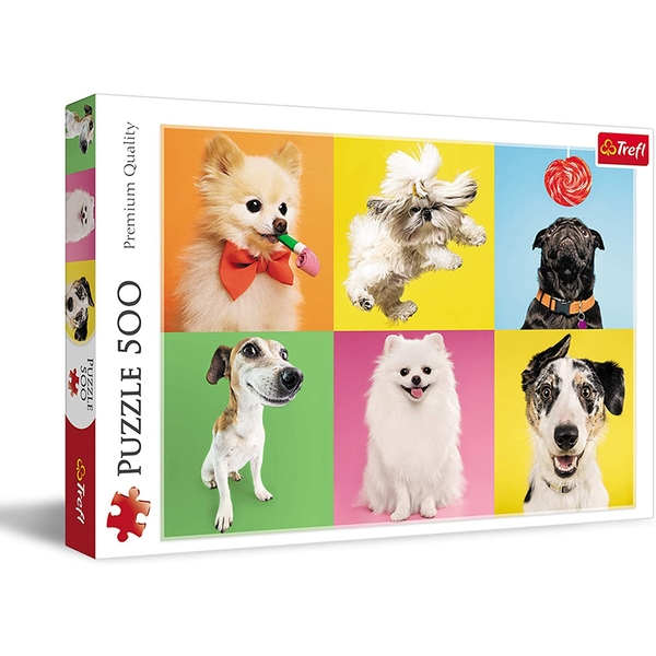 Dogs Jigsaw Puzzle - 500 Pieces
