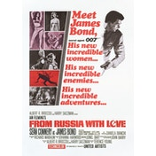 James Bond - From Russia With Love Postcard