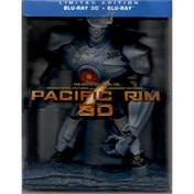 Pacific Rim (2013) Jagerpack Collectors Edition Blu-ray 3D