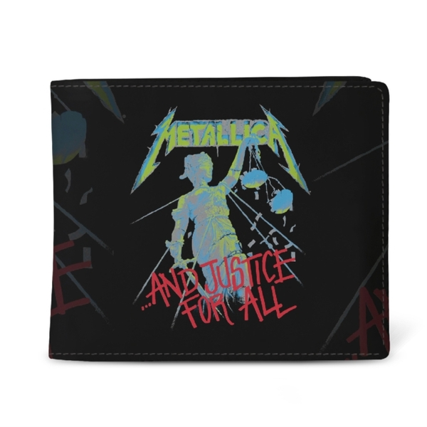 Metallica - And Justice For All Black Wallet