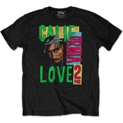 Tupac - California Love Men's X-Large T-Shirt - Black