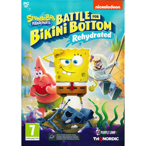 Spongebob Battle for Bikini Rehydrated PC Game