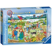 Best of British The Country Park 1000 Piece Jigsaw Puzzle