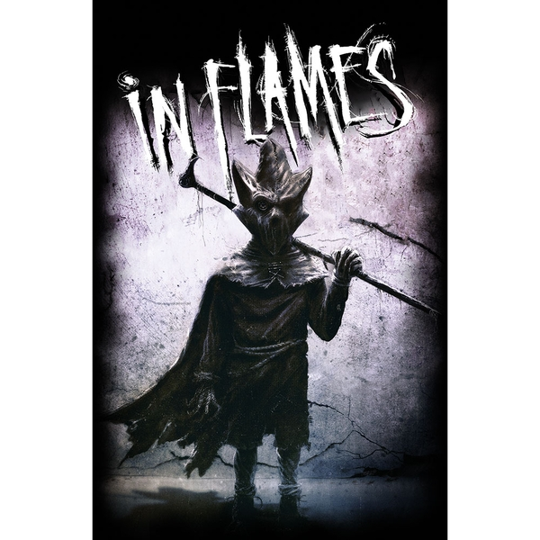 In Flames - I, The Mask Textile Poster