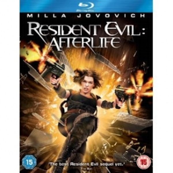 Resident Evil Afterlife Blu-Ray