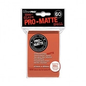 Ultra Pro Matte Small Peach 60 Sleeves DPD - 10 Packs