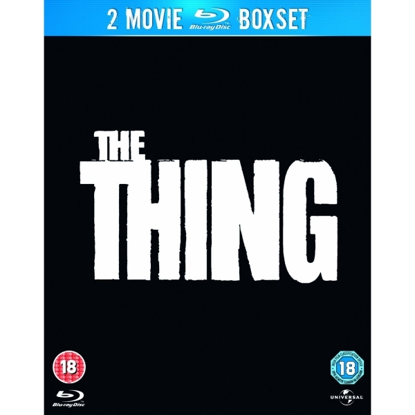 2 Movie Boxset - The Thing (1982) + The Thing (2011) Blu-ray