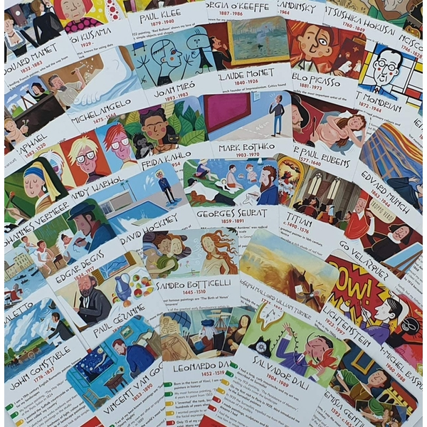 History Heroes - Artists Card Game