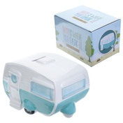 Caravan Design Ceramic Money Box