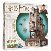 Wrebbit 3D Harry Potter The Burrow: The Weasley's Family Home Jigsaw Puzzle - 415 Pieces