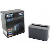 CiT 2.5/3.5 inch USB 3.0 SATA Aluminium Docking Station Gunmetal Grey