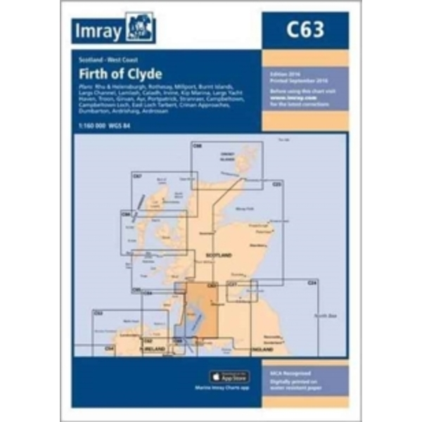 Imray Chart C63 : Firth of Clyde