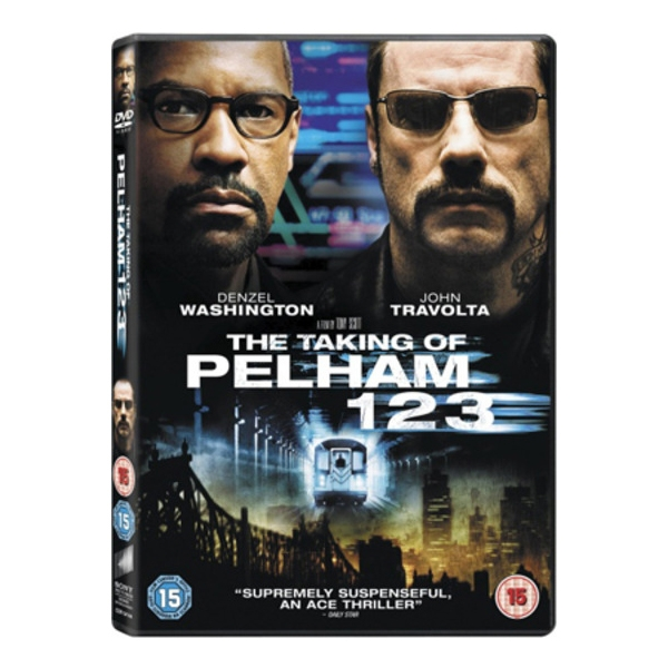 The Taking of Pelham 123 Travolta DVD