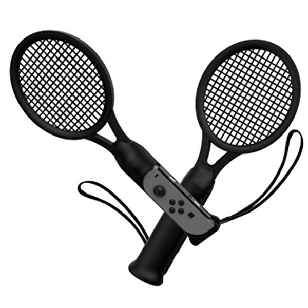 Tennis Racket Double Pack for Nintendo Switch Joy-Con Controller