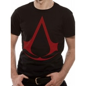 Assassin'S Creed Logo Black T-Shirt Medium