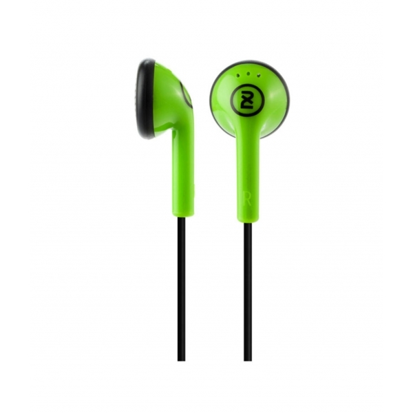 Skullcandy Offset In Ear Headphones Green and Black