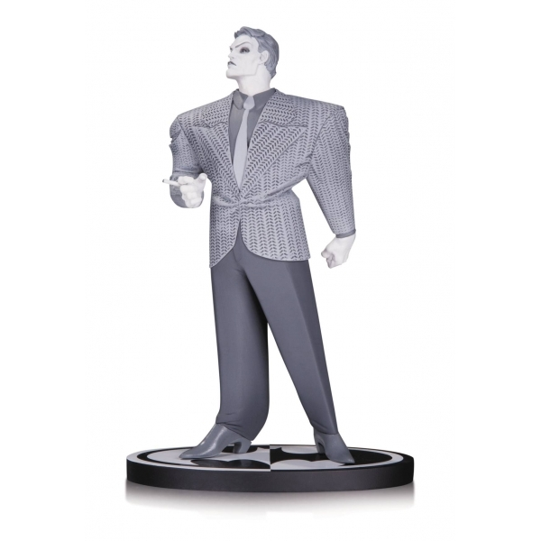 Joker Dc Comics Batman Black and White Statue By Frank Miller