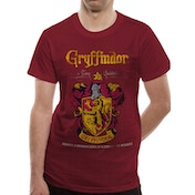Harry Potter - Gryffindor Quidditch Men's Small T-Shirt - Red