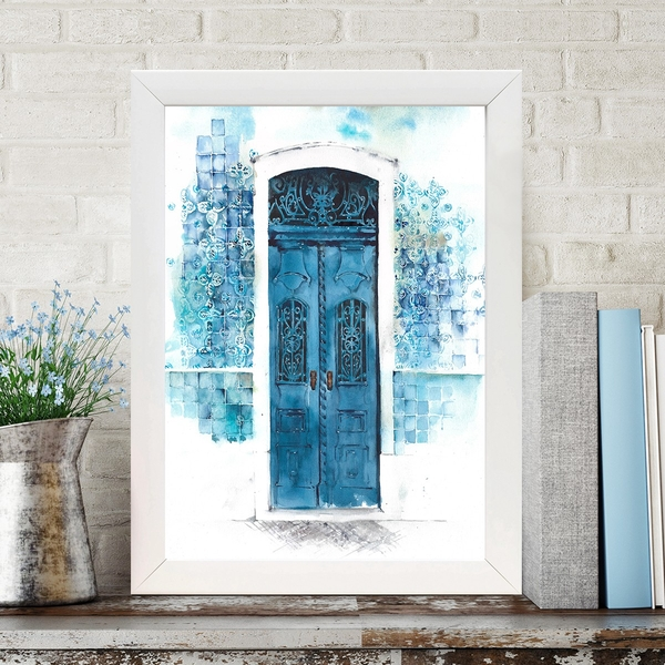 BC1064859347 Multicolor Decorative Framed MDF Painting