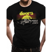 The Doors - Riders Car Men's Large T-Shirt - Black