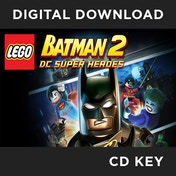 Lego Batman 2 DC Super Heroes PC CD Key Download for Steam