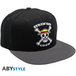 One Piece - Skull Snapback Cap - Black & Grey - Image 2