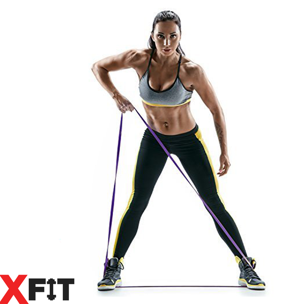 Ex-Display Resistance Loop Bands Crossfit Exercise Strength Weight Training XFit FullSet (XX-Light to XX-Heavy) Used - Like New - Image 4