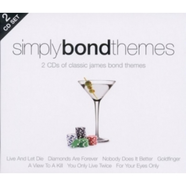 Simply Bond Themes Soundtrack CD