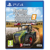 Farming Simulator 19 Platinum Edition PS4 Game