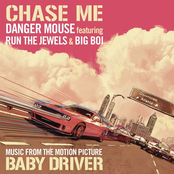 Danger Mouse Featuring Run The Jewels & Big Boi - Chase Me Vinyl