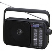 Panasonic RF2400 Portable 2 Band AM/FM Radio Black